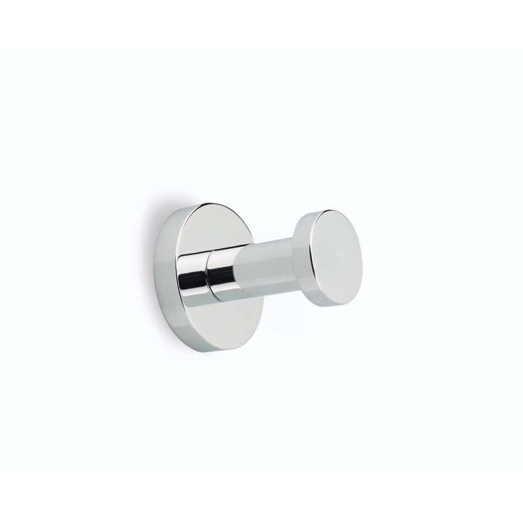 Bathroom Hook, StilHaus ME13-08, Modern Polished Chrome Robe Hook